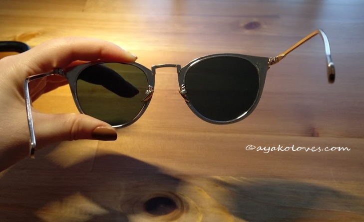 Cat Eye Mirrored Sunglasses 1