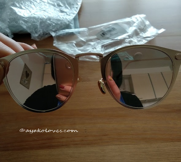 Exchanged Cat Eye Mirrored sunglasses 2